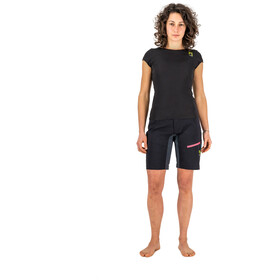 Karpos Val Viola Shorts Women black/dark grey
